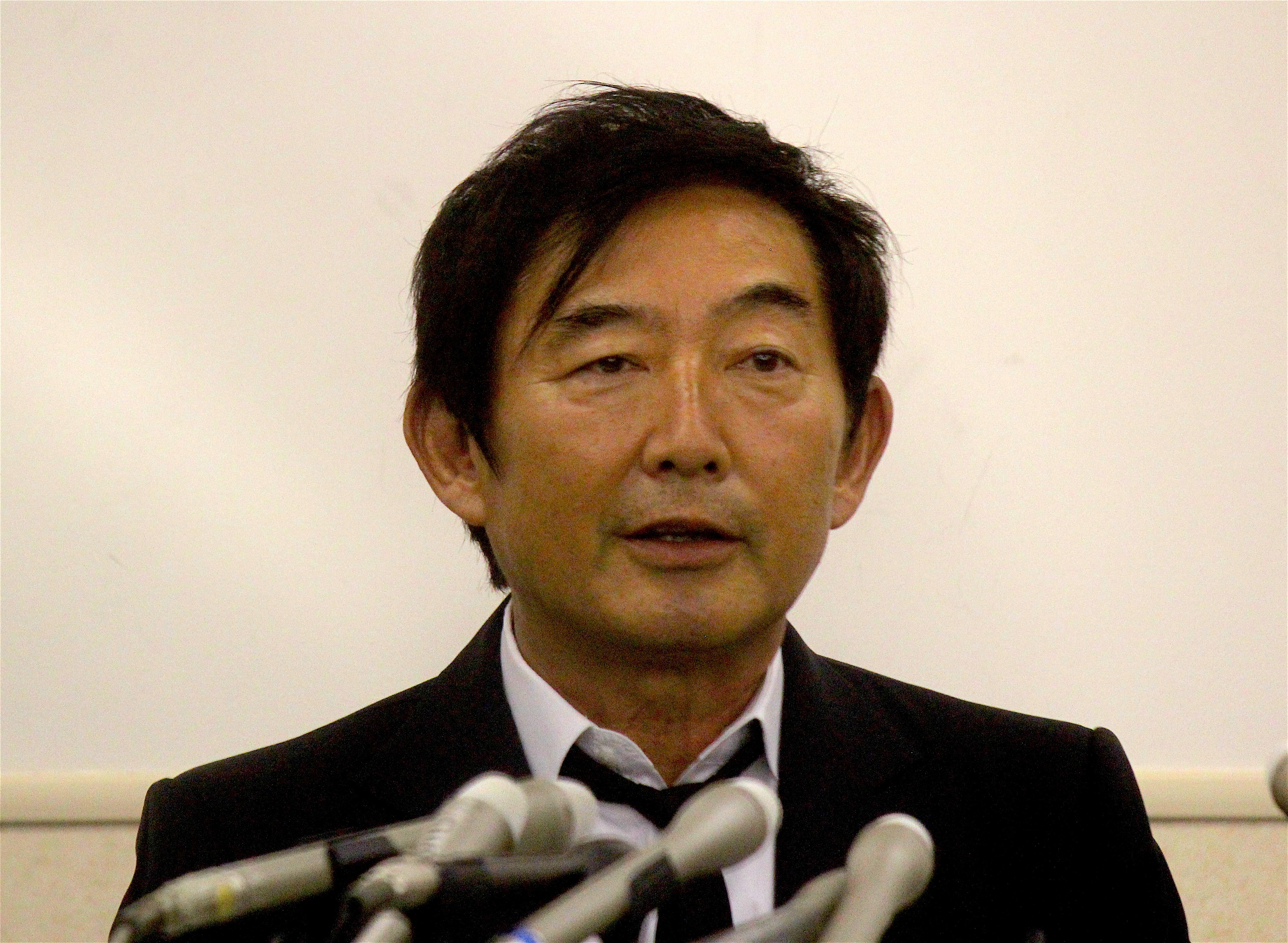 石田純一 東京都知事選©田中將介