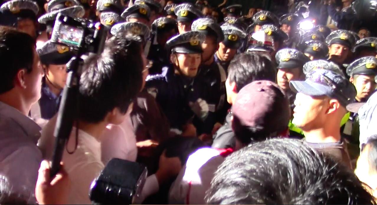 安保法制デモ@田中將介
