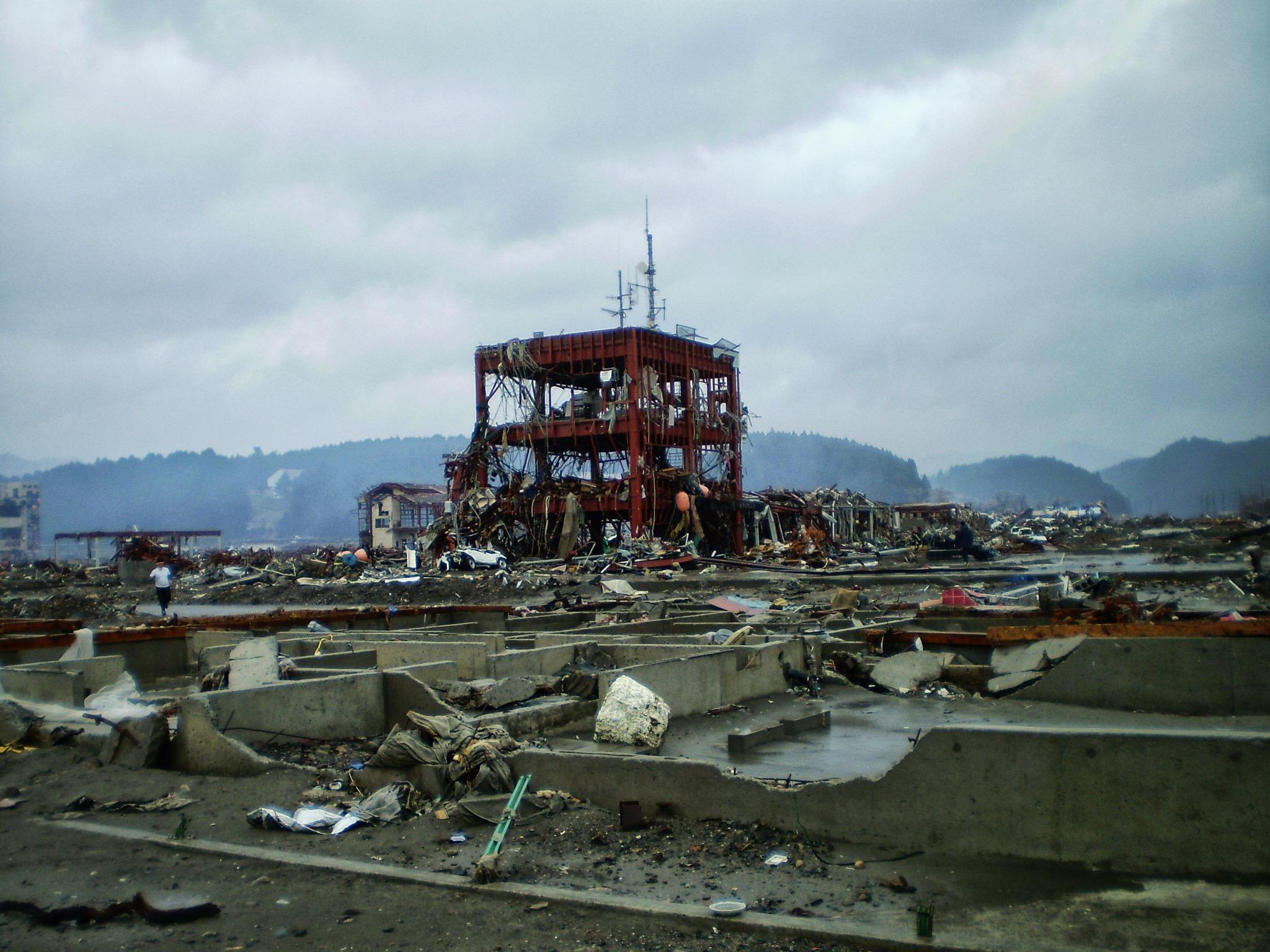 東日本大震災/2011.3.11©田中將介